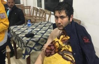 Kayıp genç, 7 saat sonra ormanda bulundu