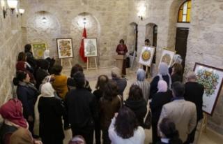 Kudüs'te 'Cam Üzerine Resim' sergisi...