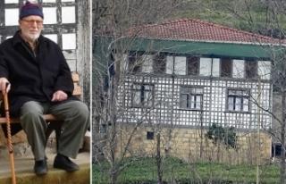 Kültür Varlığı olarak tescilli evini onarınca...