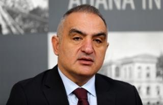 Kültür ve Turizm Bakanı Ersoy: Turist sayısında...