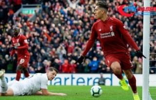 Liverpool takibi sürdürdü