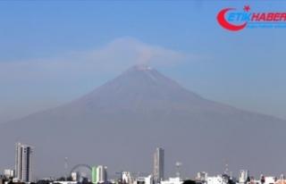 Meksika'da Popocatepetl Yanardağı'nda...