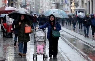 Meteoroloji yağışlı hava uyarısında bulundu