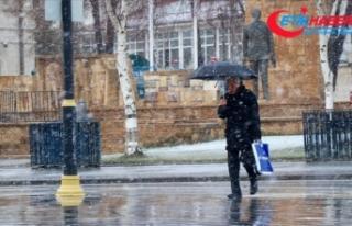 Meteorolojiden 5 il için kar yağışı ve soğuk...