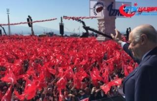 MHP Lideri Bahçeli: Ey Haçlılar, biz buradayız,...