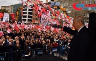 MHP Lideri Bahçeli: HDP Kürdistan diyor, CHP sinsi...
