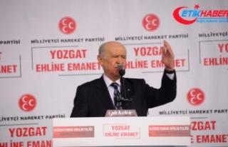 MHP Lideri Bahçeli: İP'in, PKK'nın siyasi uzantılarıyla...
