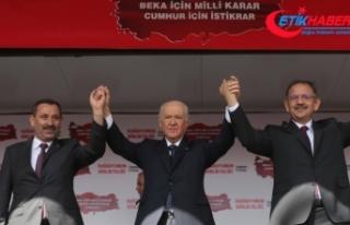 MHP Lideri Bahçeli: Türk milleti zillete haddini...