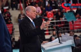 MHP Lideri Bahçeli: Türkiye'de Kürdistan diye...