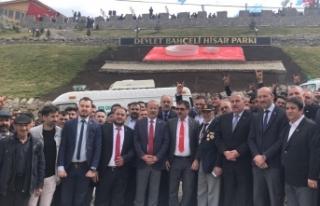 MHP'li Taytak Büyükkalecik'te Devlet Bahçeli...