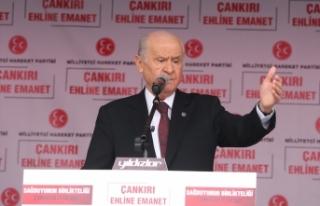 MHP Lideri Bahçeli: Biz Ne Mutlu Türküm Diyenlerin...
