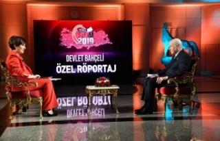 MHP Lideri Bahçeli: Kürtçe konuşan kardeşlerimizin...
