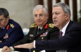 Milli Savunma Bakanı Akar: F-35'lerin Kasım'da...