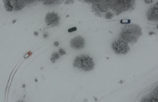 'Off-road yarışçılarının kalbi kayağın...