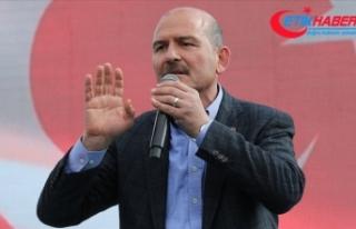 Soylu: Türkiye'ye patlayıcı girişi operasyonla...