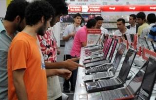 Tüketici teknolojisine 61 milyar lira harcandı