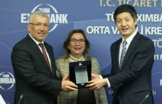 Türk Eximbank'a, ICBC Turkey Bank'tan 350...
