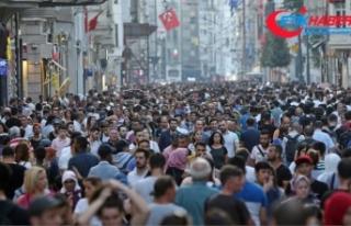 Türkiye nüfusunun yüzde 49,8'ini kadınlar...