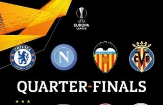 UEFA Avrupa Ligi Çeyrek Final eşleşmeleri belli...