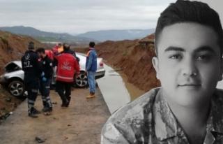 Uzman çavuş, kazada hayatını kaybetti