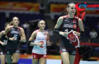 A Milli Kadın Voleybol Takımı'nın aday kadrosu...