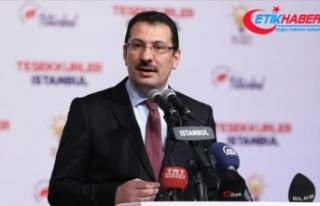 AK Parti Genel Başkan Yardımcısı Yavuz: İstanbul...