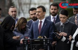 AK Parti Genel Sekreteri Şahin: 25 ilçenin 25'inde...