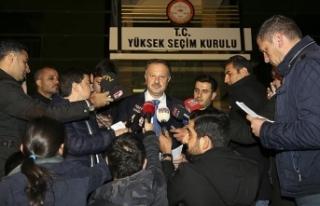 AK Parti'nin YSK temsilcisi Özel: İstanbul'da...