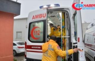 Ambulansa yol vermeyen sürücü hakkında istenen...