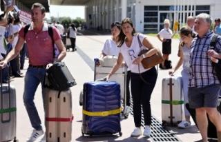 Antalya turizmi yarım milyonu geçti