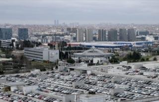 Atatürk Havalimanı'nda bırakılan araçlar...