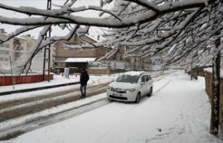 Baharda Doğu'ya kar sürprizi