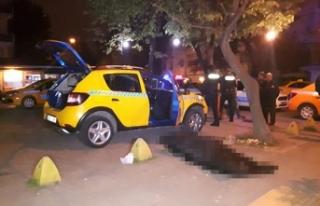 Bakırköy'de bir müşteri bindiği takside...