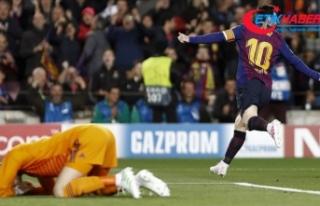 Barcelona ve Ajax yarı finalde