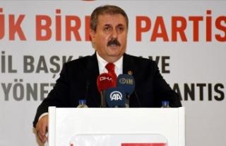 BBP Genel Başkanı Destici: Birlik olmak zorundayız