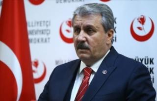 BBP Genel Başkanı Destici: YSK'nin kararına...