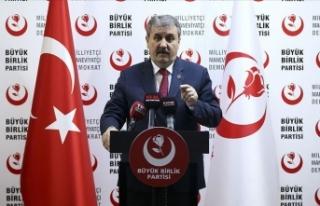 BBP Genel Başkanı Mustafa Destici: AK Parti, hakkını...