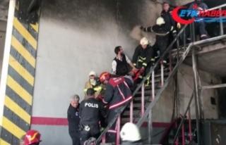 Bursa'da sanayi sitesinde patlama ve yangın:...