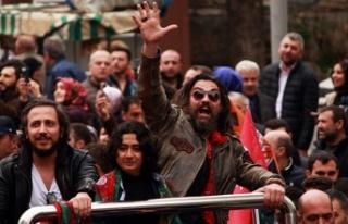 Bursa'da fetih yürüyüşünde Diriliş Ertuğrul...