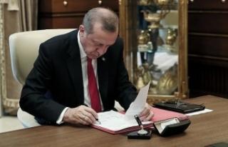 Cumhurbaşkanı Erdoğan, 5 üniversiteye rektör...