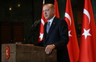Cumhurbaşkanı Erdoğan'dan Kut'ül Amare...