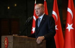 Cumhurbaşkanı Erdoğan: En büyük arzumuz çocuklarımıza...