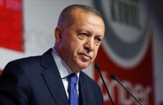 Erdoğan: DEAŞ terör örgütünü hezimete uğratan...