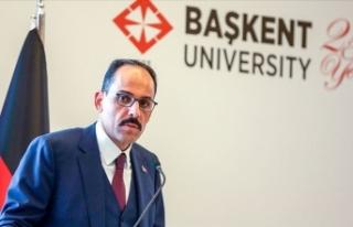 Cumhurbaşkanlığı Sözcüsü Kalın: Türkiye,...