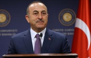 Dışişleri Bakanı Çavuşoğlu: Cumhurbaşkanı...