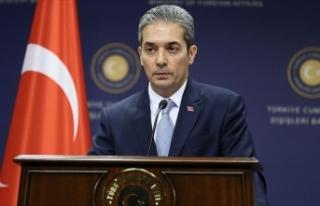 Dışişleri Bakanlığı Sözcüsü Aksoy: AB'nin...