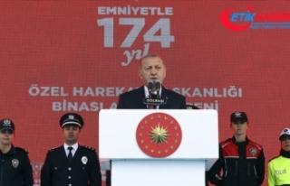 Erdoğan: Bizi dize getireceklerini sananlara mümkün...