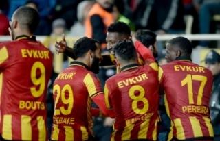 Evkur Yeni Malatyaspor'un gözü finalde