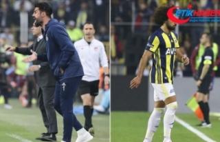 Fenerbahçeli Volkan Demirel ve Sadık Çiftpınar...