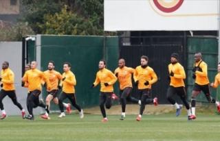 Galatasaray'da Fenerbahçe derbisi hazırlıkları...